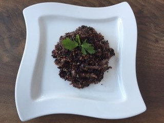 Black Rice Risotto Recipe